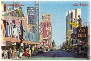 Old Las Vegas streets